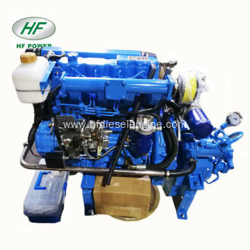 Top quality HF-490H 58hp fishing boat engine inboard