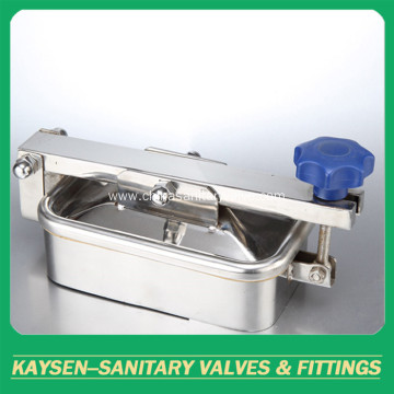 Atmospherics Sanitary Rectangular Manway