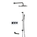 HIDEEP Wall Mount Bathroom Shower Faucet
