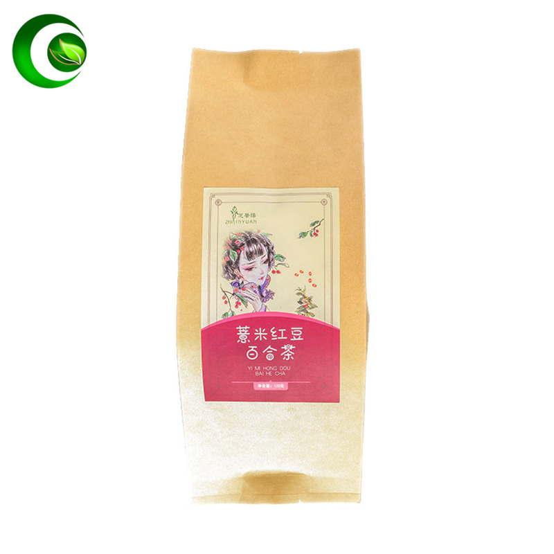 Red Beans Barley Red Bean Gorgon Fruit Buckwheat Lily Licorice Orange Peel Gardenia Tea Detoxification and Dampness