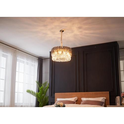 Modern Indoor Bedroom Decoration Crystal Chandelier