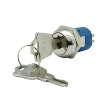 4A 125VAC Multifunction Electrical Key Switch