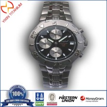 Titanium Alloy Sport Watch As Fashion Gift