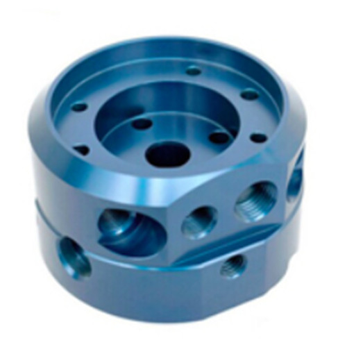 Precision CNC Machined Aluminum Part with surface finish