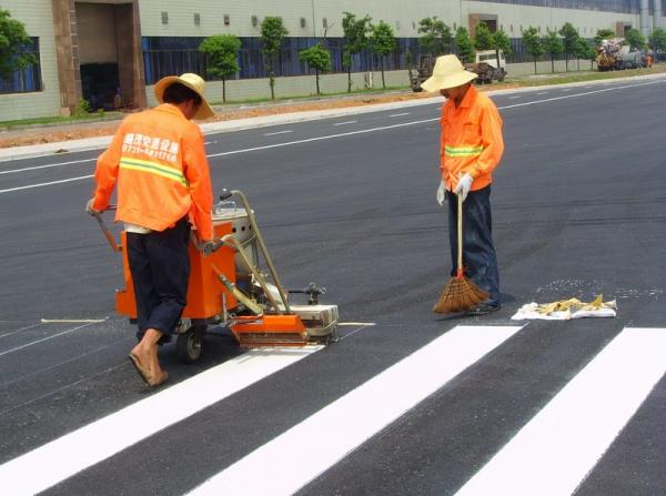 Road marking construction2
