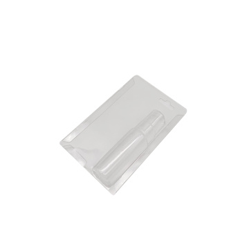 PET PVC transparent plastic slide card blister