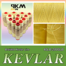 40lb-2000lb Kevlar Kite Line String for Fishing Assist Cord Kite Flying Outdoor Camping Tent Cord Low-stretch Cut-resistance
