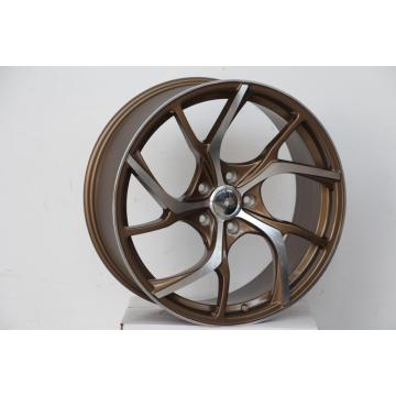 Bronze 20inch machined face alloy wheel