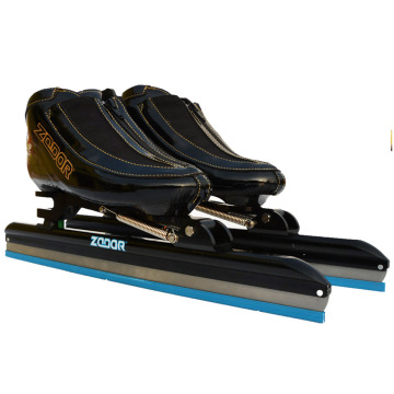 Japy 6 Layers Carbon Speed Ice Blade Skating Shoes Metal Fix Location Knife Racing Skates Comfortable Patines Sneakers J003