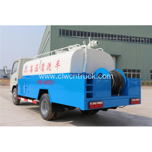 Guaranteed 100% New DFAC 6000litres Drain Cleaning Truck