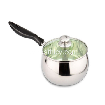 Thick Stainless Steel Single Handle Milk Pot