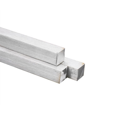 manufacture hot rolled pickled white ss201 stainless steel square bar