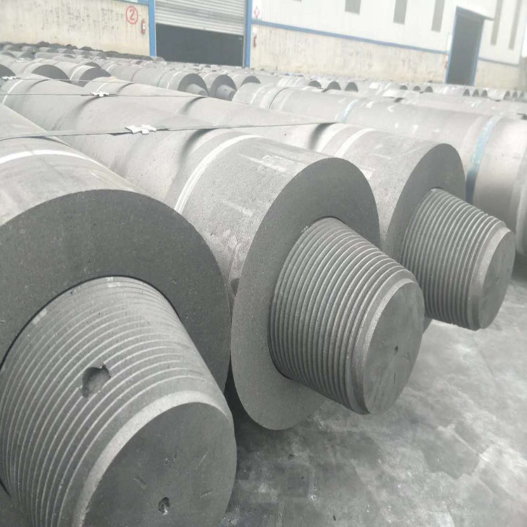 RP Graphite Electrode Nipples For Arc Furnace