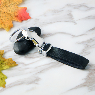 Individual Zinc Alloy Key Ring Leather Key Chain