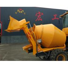 Drum Self-loading Beton Mixer