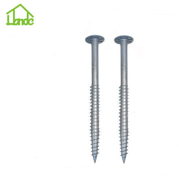 Stell ground anchor screw with low prices