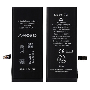 iPhone 7 Plus Replacement Li-ion Battery iOS Update