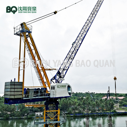 BQ GHD5030-10 Luffing Tower Crane