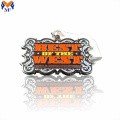 High quality custom square enamel metal medal