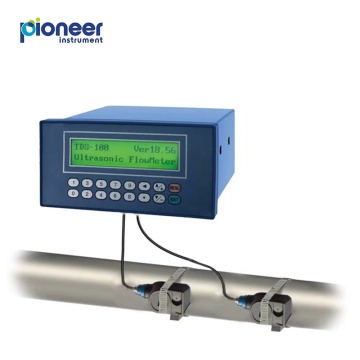 TDS-100F Panel Mount Ultrasonic Flow Meter