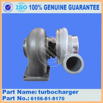 WA450-3 WA470-1 S6D125 engine turbocharger 6152-81-8310
