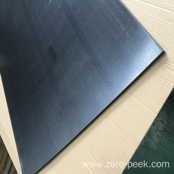 Natural black PEEK plate