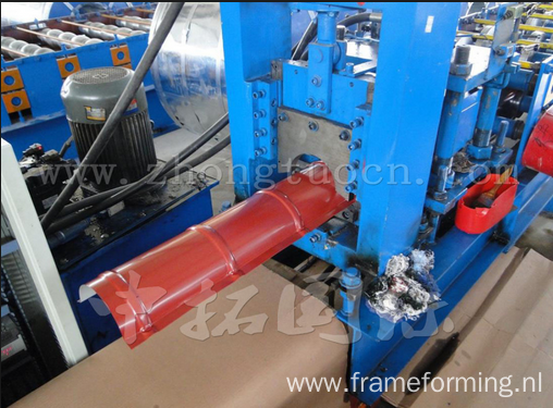 Ridge Cap Galvanized Tile Forming Machine