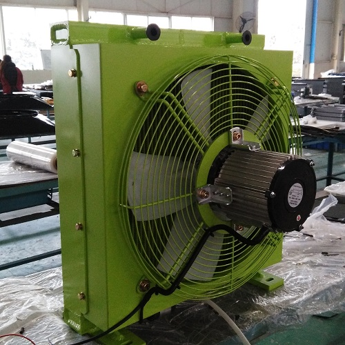 Plate Fin Water To Air Heat Exchanger