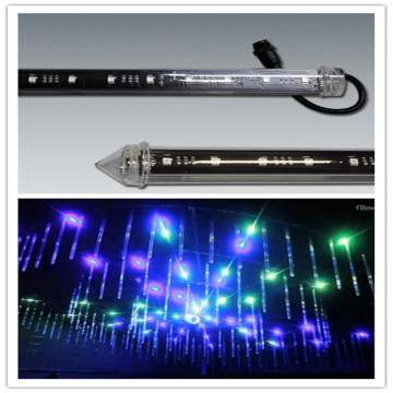 Nightclub Lighting DMX led meteor 3d tube