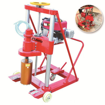 Portable Concrete Drilling Rig Machine Used For Drilling Engineering Sampling FZK-20