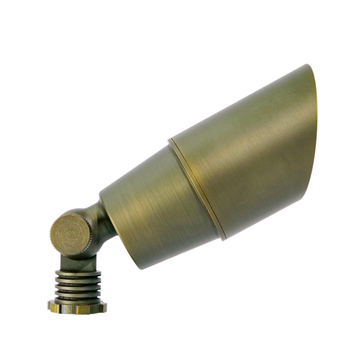 Brass Bullet Up Light fixture for Residential Lighting