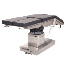 Electric medical equipment operating table