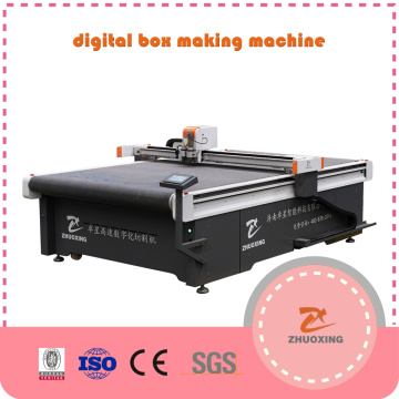 Cnc Knife Cutting Machine With Oscillating Knife