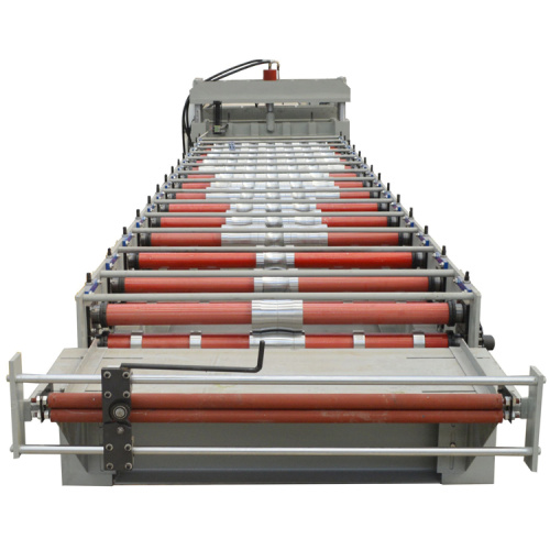 Step Tile Aluminium Roofing Sheet Roll Forming Machine