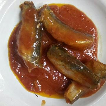 Canned Sardine Fish in Tomato Sauce with Chili