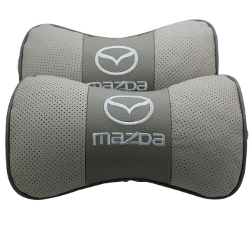 leather car pillow protection your neck car headrest