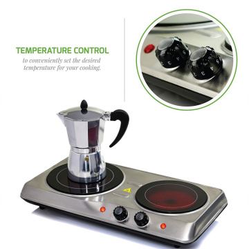 1200 Watt countertop Infrared ceramic burner hot plate