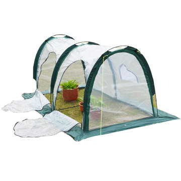 2 Meters Garden Seeding Tunnel Cloche Protects Plants Crops Anti Insects