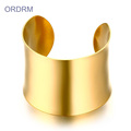 Cheap Wholesale Womens Gold Wide Cuff Bracelets