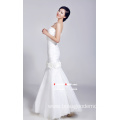White Fishtail Wedding Dress