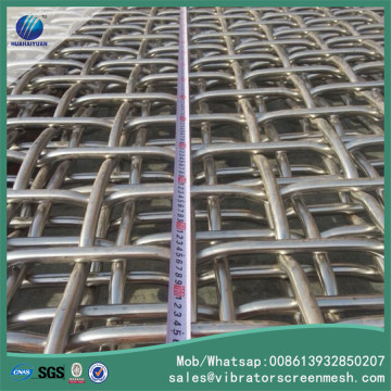 SS304 Woven Wire Mesh For Vibrating Screen