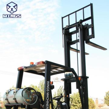 3 T Gasoline&LPG Forlift 4m Lifting Height