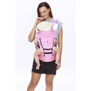 Head Support Hooded Baby Carrier Hip Seat