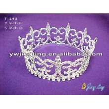 Full Round Pageant Tiaras