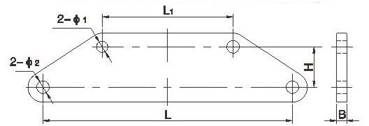 Link Fitting LS Yoke Plate