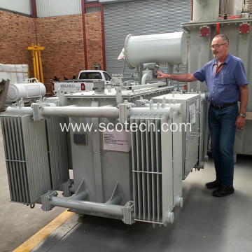 4000KVA 11/6.6KV oil immersed distribution transformer