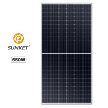 Solar Mono Panel 550W Half cut High Efficiency