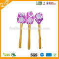 wholesale best quality silicone spatula with wooden handle