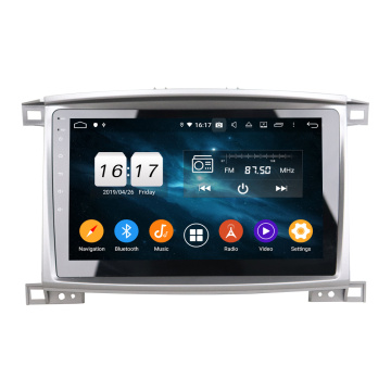car dvd player android for LC100 VXR 2005