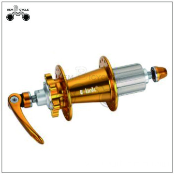 Quick release alloy wheel chair hub